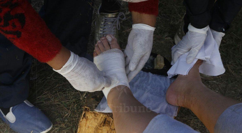 asi asistieron a los peregrinos de la puna en la rural
