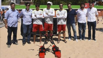 Dron salvavidas:cuando lo tecno te ayuda