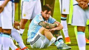 Messi, en la final de la Copa América Centenario.